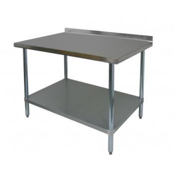 97555 - GSW - WT-EB2472 - 72 in x 24 in Stainless Steel Work Table Product Image