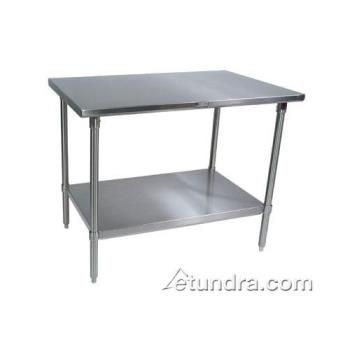 "JHBST63060GSK - John Boos - ST6-3060GSK - 30"" X 60"" Stainless Steel Work Table Product Image"