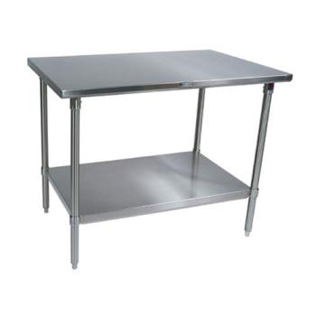 "JHBST63072GSK - John Boos - ST6-3072GSK - 30"" X 72"" Stainless Steel Work Table Product Image"