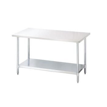 95302 - Turbo Air - TSW-2424E - 24 in x 24 in Stainless Steel Work Table w/ Galvanized Undershelf Product Image