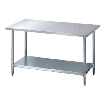 95308 - Turbo Air - TSW-2448E - 24 in x 48 in S/S Work Table w/ Galvanized Undershelf Product Image