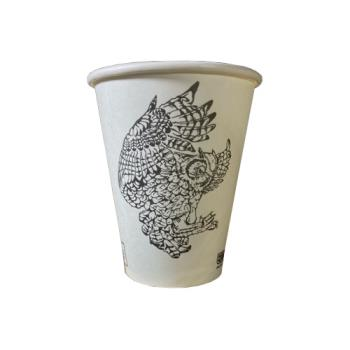 3530 - Eco-Products - EP-BHC8-Z09845 - 8 oz Moxie Bread Custom Print Hot Cup Product Image