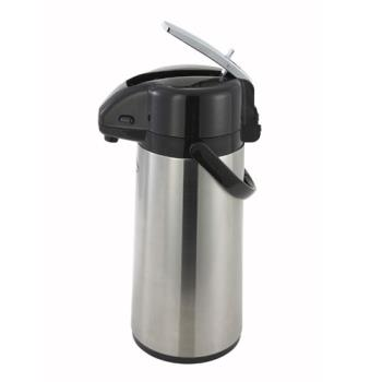 95105 - Winco - AP-822 - 2.2 L Glass Lined Lever Airpot Product Image
