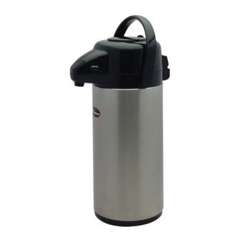 95118 - Winco - APSP-925 - 2 1/2 L Stainless Steel Lined Airpot Product Image