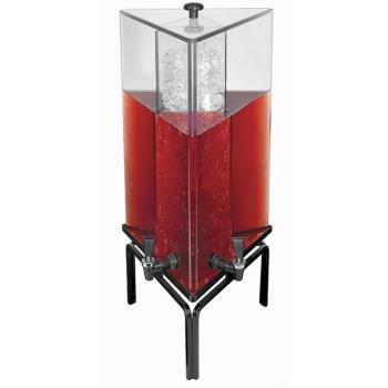 GMDJC303 - Cal-Mil - JC303 - 3 Gal Triangle Beverage Dispenser w/Strata Stand Product Image