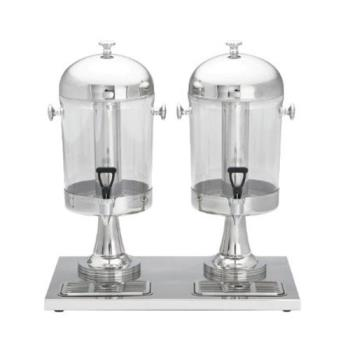 TAB72 - Tablecraft - 72 - 4 Gal Double Beverage Disepenser Product Image