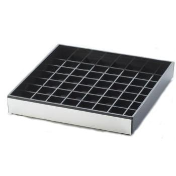 76425 - Cal-Mil - 391-010 - 6 in x 6 in Silver Drip Tray Product Image