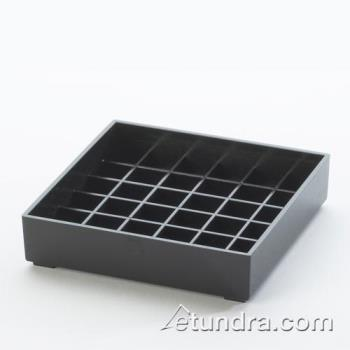 CLM681413 - Cal-Mil - 681-4-13 - 4 in x 4 in Black Drip Tray Product Image
