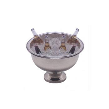 AMMHMPB20 - American Metalcraft - HMPB20 - 13 Qt Hammered Stainless Steel Punch Bowl Product Image