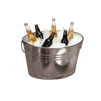 75867 - American Metalcraft - GPTUB20 - 20 in x 15 in Galvanized Tub Product Image
