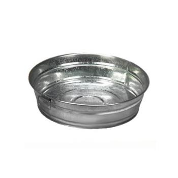 75736 - American Metalcraft - MTUB12 - 12 in x 3 in Galvanized Tub Product Image