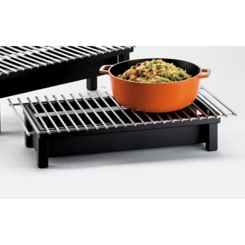 CLM13482213 - Cal-Mil - 1348-22-13 - 22 in x 12 in x 4 in Black Grill Product Image