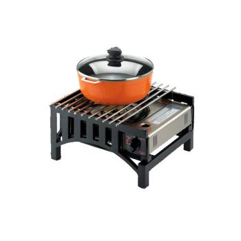 CLM136313 - Cal-Mil - 1363-13 - 14 in x 12 in x 7 in Black Butane Stove Frame Product Image