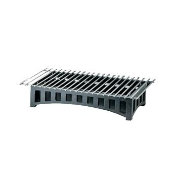 CLM13642213 - Cal-Mil - 1364-22-13 - 22 in x 12 in x 4 in Black Grill Product Image
