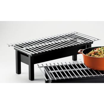 CLM14092213 - Cal-Mil - 1409-22-13 - 22 in x 12 in x 7 1/2 in Black Grill Product Image