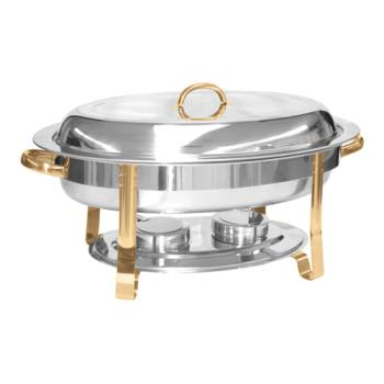 THGSLRCF0836GH - Thunder Group - SLRCF0836GH - 6 qt Chafing Dish Product Image