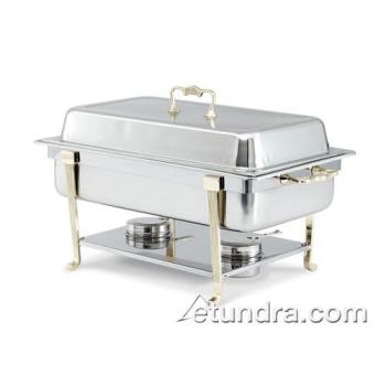 VOL46050 - Vollrath - 46050 - Classic Brass 9 Qt Rectangular Chafer Product Image