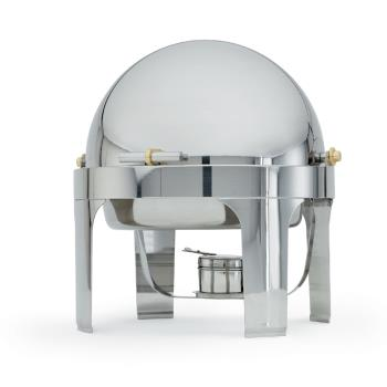 VOL46070 - Vollrath - 46070 - New York, New York™ 6 Qt Round Chafer w/ 90° Cover Product Image