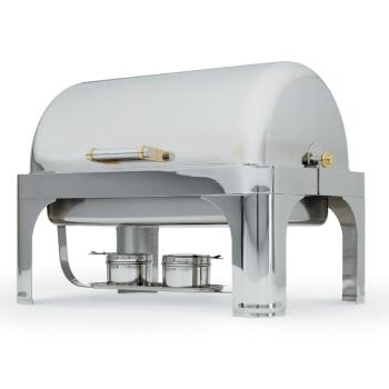 VOL46080 - Vollrath - 46080 - New York, New York™ 9 Qt Rectangular Chafer w/ 90° Cover Product Image