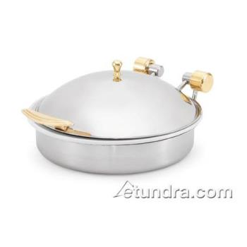 VOL46121 - Vollrath - 46121 - Intrigue™ 6 Qt Induction w/ Brass Trim & S/S Food Pan Product Image