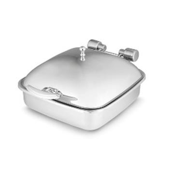 VOL46133 - Vollrath - 46133 - Intrigue™ Chafer w/Solid Top & Porcelain Food Pan Product Image