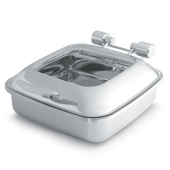 VOL46134 - Vollrath - 46134 - Intrigue™ Chafer w/Glass Top & Stainless Food Pan Product Image