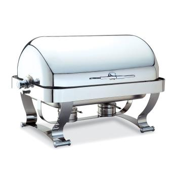 WAL54120CR - Walco - 54120CR - Grandeur™ 8 Qt Roll Top Chafer Product Image
