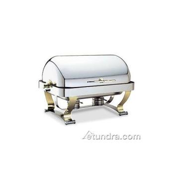 WAL54120G - Walco - 54120G - Grandeur™ 8 Qt Roll Top Chafer w/ Gold Accents Product Image