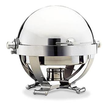 WAL54130CR - Walco - 54130CR - Satellite™ 6 Qt Roll Top Chafer w/ Chrome Accents Product Image