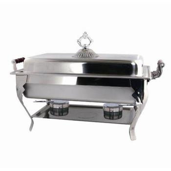 WIN4081 - Winco - 408-1 - Crown 8 qt Chafing Dish Product Image