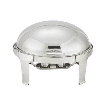 WIN603 - Winco - 603 - Madison 7 Qt Oval Chafer Product Image