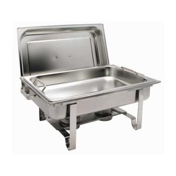 WINC2080B - Winco - C-2080B - Get-A-Grip 8 Qt Oblong Chafer Product Image