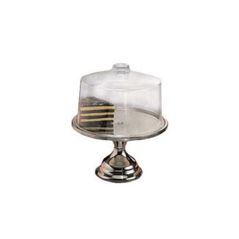 75668 - American Metalcraft - 19SET - 13 1/2 in Stainless Steel Cake Stand & Cover Set Product Image