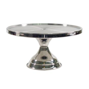 85833 - Winco - CKS-13 - 13 in x 6 3/4 in Cake Stand Product Image