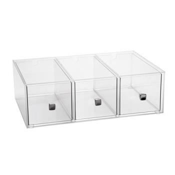 CLM1479 - Cal-Mil - 1479 - 3-Drawer Bread Box Product Image