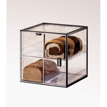 CLM17204 - Cal-Mil - 1720-4 - 4 Drawer Black Bread Box Product Image