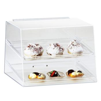 CLM254 - Cal-Mil - 254 - 2-Tier Display Case  Product Image