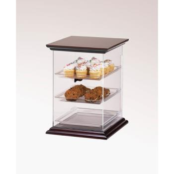 CLM814152 - Cal-Mil - 814-1-52 - Euro 3-Tier Wood Display Case Product Image