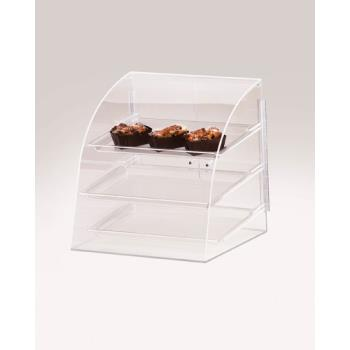 CLMP255 - Cal-Mil - P255 - Euro 3-Tier Display Case  Product Image