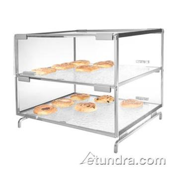 GMDPC200 - Cal-Mil - PC200 - 2-Level Acrylic Pastry Case w/Shelves Product Image