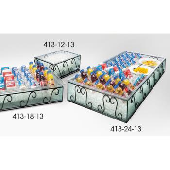 CLM4131813 - Cal-Mil - 413-18-13 - 18 in x 20 in Glass Ice Housing Product Image