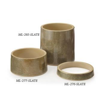 GETML285SLATE - GET Enterprises - ML-285-SLATE - Stone-Mel 6 in Tall Pedestal Product Image