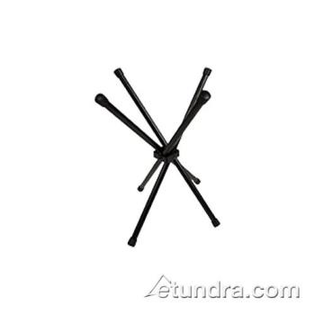 "BUGWX03 - Bugambilia - WX03 - 16""H Folding Black Chopsticks Display Stand Product Image"