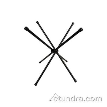 "BUGWX04 - Bugambilia - WX04 - 21""H Folding Black Chopsticks Display Stand Product Image"