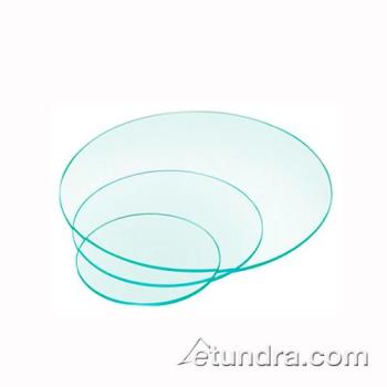 CLM144316 - Cal-Mil - 1443-16 - 16 in Round Glass Riser Shelf Product Image