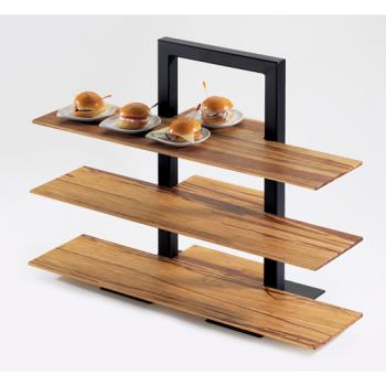 CLM146413 - Cal-Mil - 1464-13 - 3-Tier Black Shelf Frame Product Image