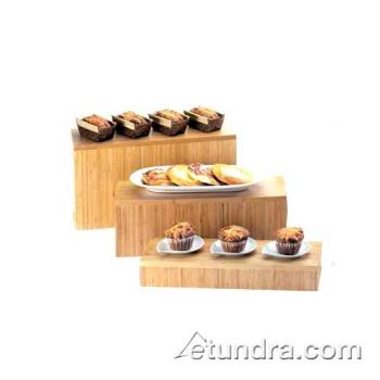CLM1661160 - Cal-Mil - 166-11-60 - 20 in x 7 in x 11 in Bamboo Riser Product Image