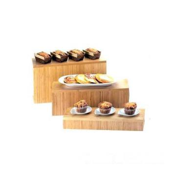 CLM166360 - Cal-Mil - 166-3-60 - 20 in x 7 in x 3 in Bamboo Riser Product Image