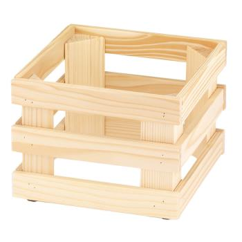 GET5ST054 - GET Enterprises - 5ST054 - 9 in x 9 in FRILICH Riser™ Untreated Wooden Base Product Image