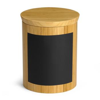 TABRCBR668 - Tablecraft - RCBR668 - 6 in x 8 in Write On Round Bamboo Riser Product Image